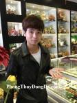 Anh Ngọc – khách hàng mua Tỳ Hưu ngọc Myanmar S952 - T.H.S