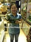 Chị Hiền – Khách hàng mua Rồng Lam Ngọc lớn M098 - T.H.S