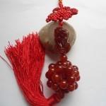 Ngọc bội tỳ hưu mã não đỏ S5127 – T.H.V