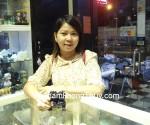 Chị Sương – khách hàng mua cặp Tỳ hưu thạch anh đen HM012 - T.H.S