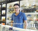 Anh Phong – khách hàng mua Rồng dạ quang tím HM174 và Trụ thạch anh tím HM057-245 - T.H.S