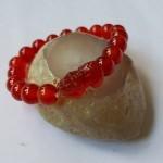 Chuỗi Tỳ hưu mã não đỏ nhỏ S6003 – T.H.V